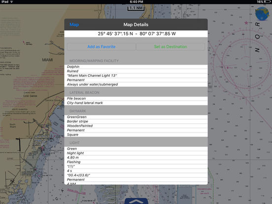 Marine: Rhode Island to Maine HD iPad Screenshot 2