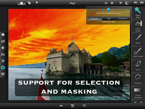 Leonardo - Layers, Selection and Masking Screenshots