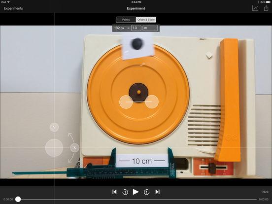 Vernier Video Physics iPad Screenshot 3