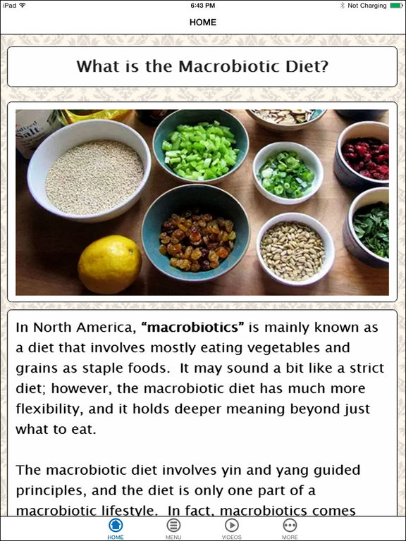 the macrobiotic diet essay Despite nutrient adequacy concerns, macrobiotic diets are practiced by many individuals with cancer and other life-threatening illnesses this study compared the.