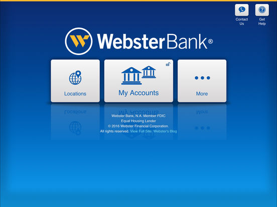 Webster Bank® Mobile for iPad on the App Store