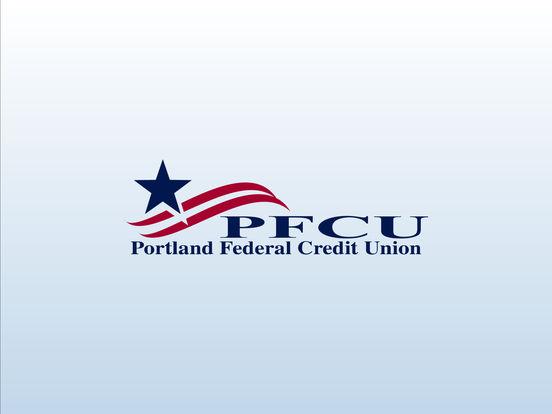 Portland FCU Mobile Banking iPad Screenshot 1