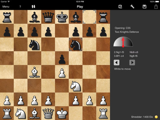 Shredder Chess for iPad Screenshots