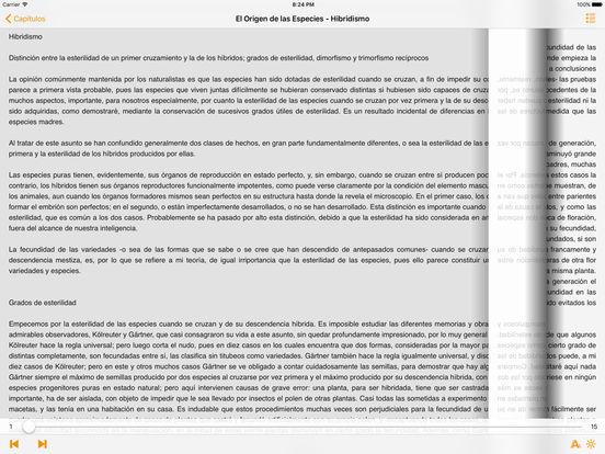 El Origen de las Especies - Charles Darwin iPad Screenshot 1