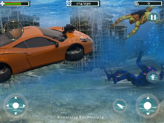 Underwater Robot Car Transformation screenshot 6