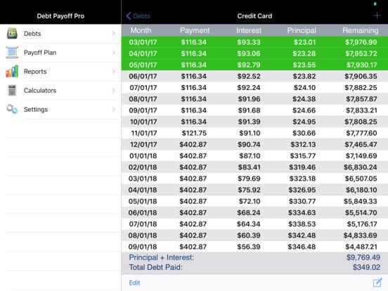 Debt Payoff Assistant screenshot 10