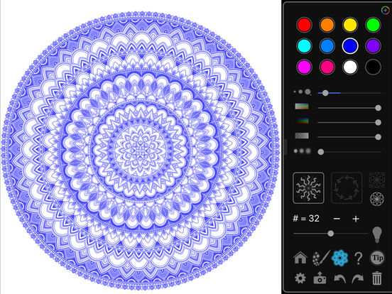 iOrnament: draw creative geometry art Screenshots