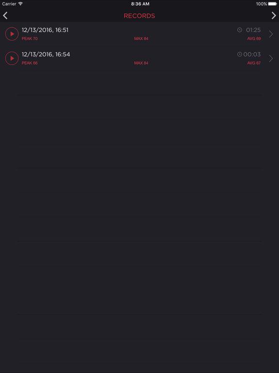 Decibel Meter - sound level db measurement tool Screenshots