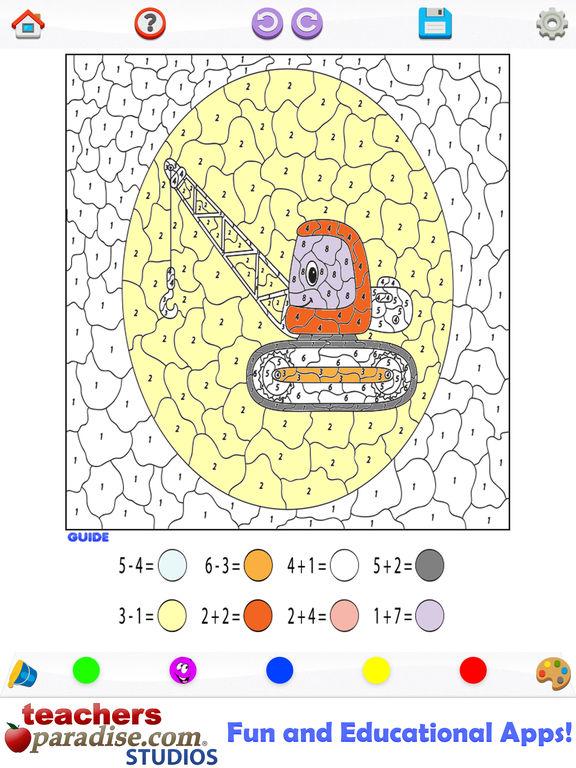 App Shopper Kids Math Coloring Book