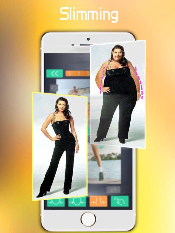 App Shopper: Make Me Thin - Photo Slim & Fat Face Swap ...
