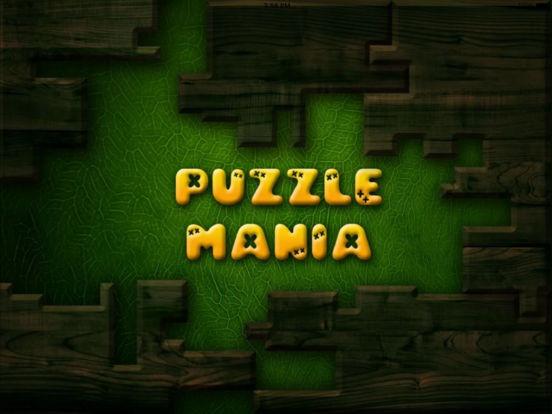 Puzzle Mania iPad Screenshot 1