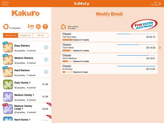 Conceptis Kakuro screenshot 10