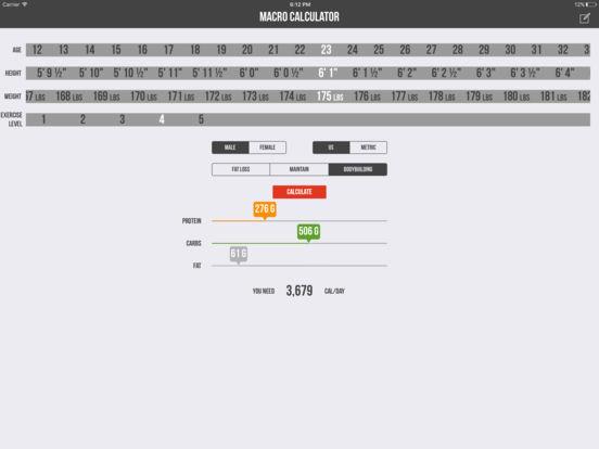 Macro Calculator - Mifflin-St Jeor Formula Скриншоты9
