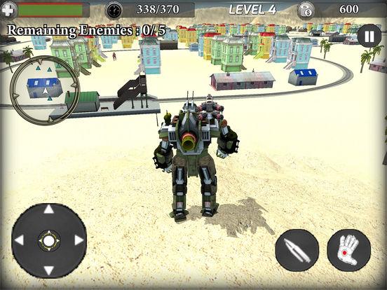 Train Robot Transformation screenshot 5