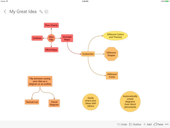 Idea Sketch iPad Screenshot 1