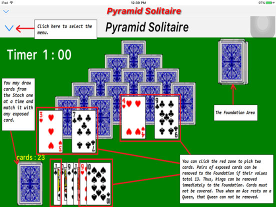App Shopper: Funny Pyramid Solitaire - Classic version (Games) Funnygames Solitaire 1