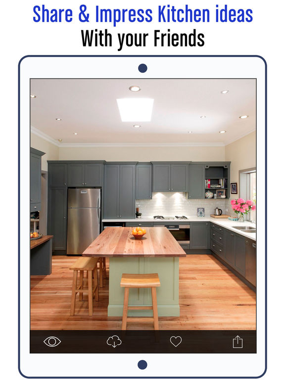 App shopper kitchen design ideas modular kitchen design for Kitchen ideas app