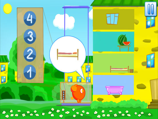 Учим цифры - развивающие игры для малышей на iPad