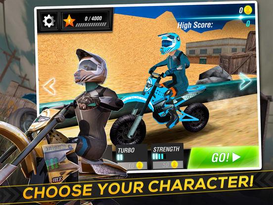 Screenshot #3 for Motocross Trial Racing 3D
