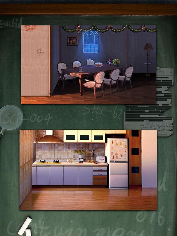 детектив Дом побег 9 - избежать дверей и номера для iPad
