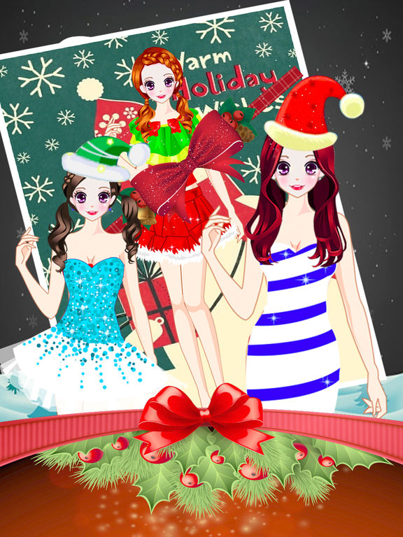 App shopper christmas salon high fashion make up game games Fashion style and beauty games