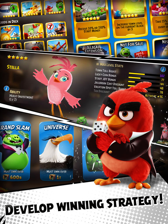 Angry Birds: Dice Screenshots