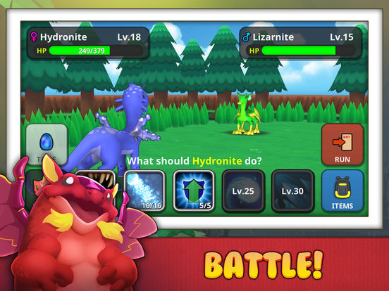 Drakomon - Battle & Catch Monster Dragon RPG Games для iPad