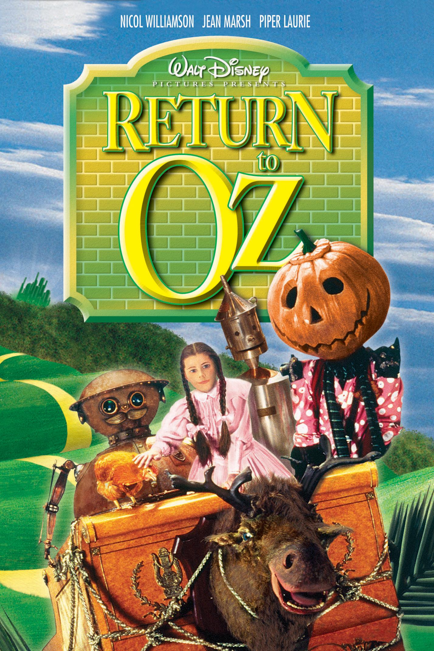 itunes movies return to oz 1985