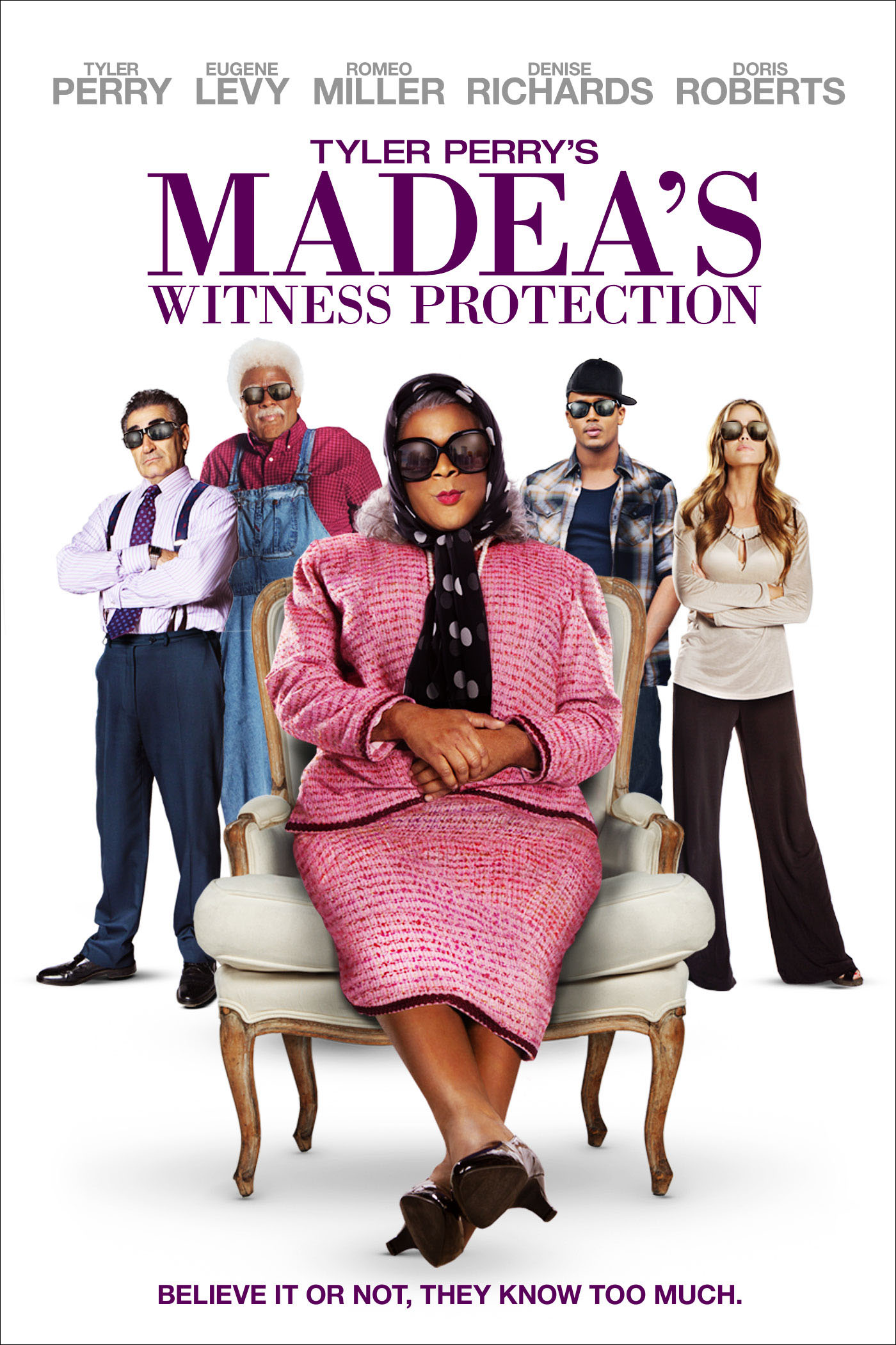 Madea's Witness Protection Full Movie - video dailymotion