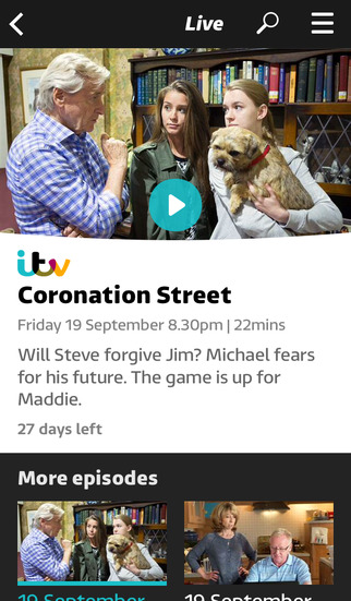 ITV Hub screenshot #4