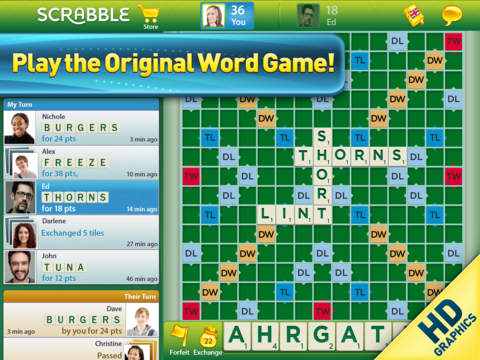 SCRABBLE™ for iPad image #1