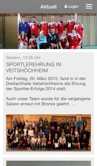 Blindenfußballteam Würzburg screenshot 1