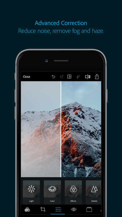 photoshop apps for iphone adobe photoshop express edit photos make collage on the 15854