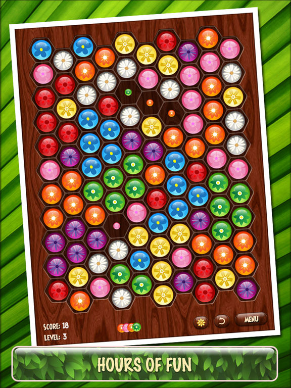 Screenshot Flower Board HD - A relaxing puzzle game