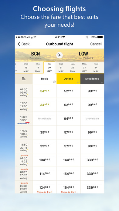 the cheapest iphone vueling airlines cheap flights on the app 3381