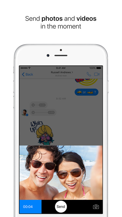 how to get videos off of iphone messenger on the app 7068