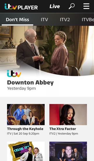 ITV Hub screenshot #1