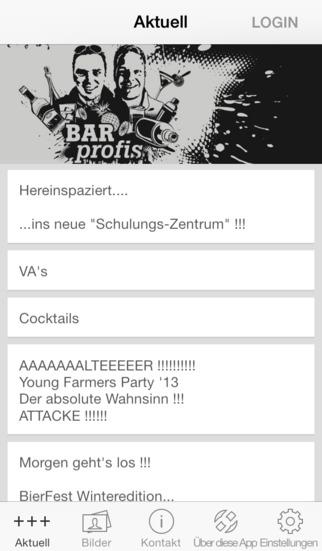 Bar Profis screenshot 1