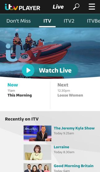 ITV Hub screenshot #2