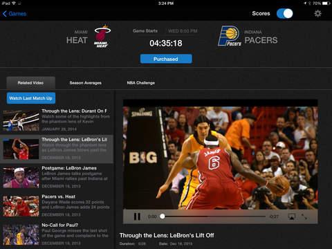 NBA: Live Games & Scores screenshot 6