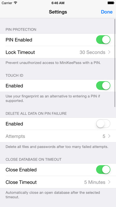 how to store passwords on iphone minikeepass secure password managerを app で 4655