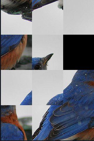 SlidePuzzle - Bluebird screenshot #1