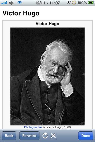 Victor Hugo Quotes screenshot #1