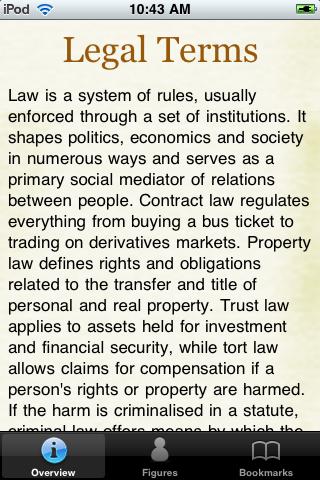 Legal Terms Glossary Book screenshot #1