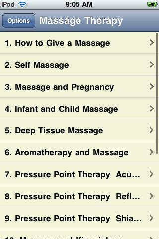 Massage Therapy 101 screenshot #2