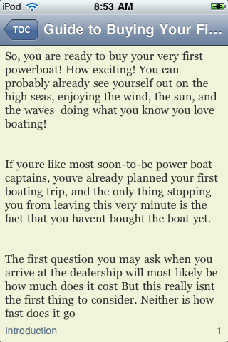 Guide to Buying Your First Powerboat screenshot #3