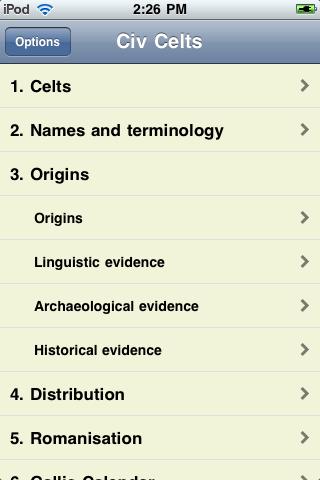 History of the Celts screenshot #3