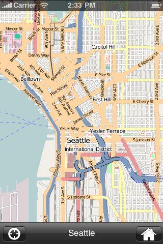 iMapsPro - Seattle screenshot #1