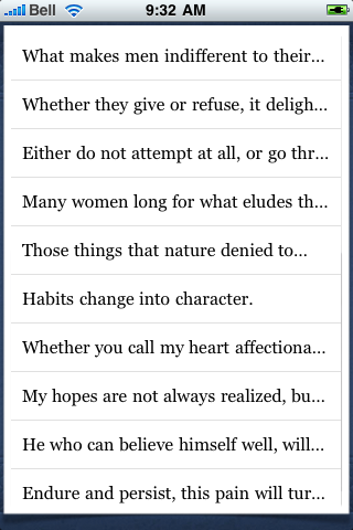 Ovid Quotes screenshot #3