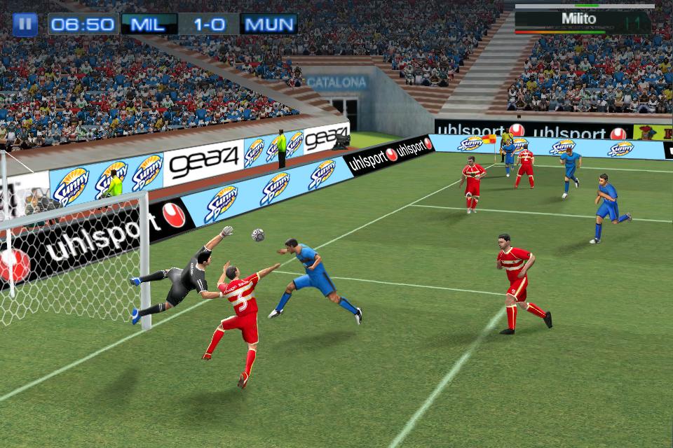 Real Football 2011 FREE screenshot #5